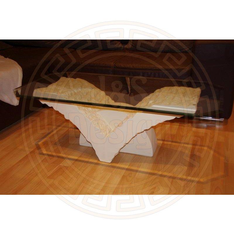 Couchtisch wohnzimmertisch beistelltisch tisch steintisch for Wohnzimmertisch beistelltisch