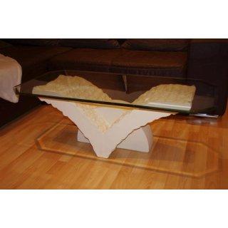 Couchtisch Wohnzimmertisch Beistelltisch Tisch Steintisch Fossiltisch NEU