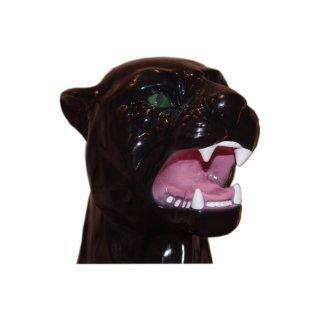 Panther-Berglöwe-Skulptur-Figur-Raub-Katze-Puma-Löwe-Jaguar-Tierfigur-Dekofigur