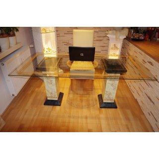 Konferenztisch Bürotisch Schreibtisch Marmortisch Versa Serie Medusa 180cmx90cm