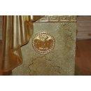 Versa Serie Blumensäule Marmorsäule Deko Säule runder Beistelltisch Telefontisch