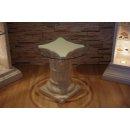 Runder Couchtisch Telefontisch Blumensäule Standsäule Glastisch Säulentisch