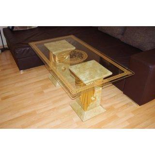 Couchtisch Steinmöbel Glastisch Marmortisch Versa Serie Marmortisch Säulentisch