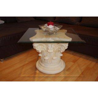 Couchtisch Wohnzimmer Säulen Tisch Blumensäule Beistelltisch