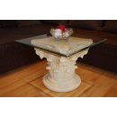 Couchtisch Wohnzimmer Säulen Tisch Blumensäule...