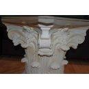 Couchtisch Wohnzimmer Säulen Tisch Blumensäule Beistelltisch Glastisch 70cmx70cm