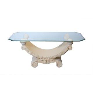 Glastisch Couchtisch Wohnzimmertisch Tische Steintisch Römertisch 120cmx60cm