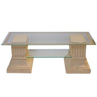 Glastisch Couchtisch Steinmöbel Versa Serie Glastisch Griechischer Römer Barock