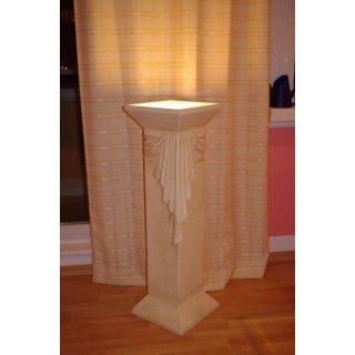 1 x Säule Blumensäule Steinmöbel Stehlampe Versa Serie Stehlampe Säule mit Licht