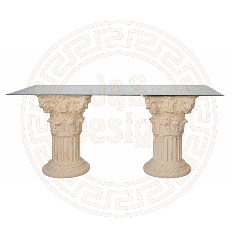 esstisch esszimmer tafel k chen r mer tisch griechisch s au. Black Bedroom Furniture Sets. Home Design Ideas