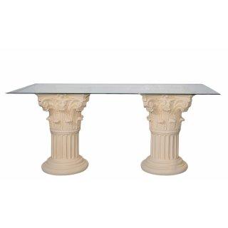Esstisch Esszimmer Tafel Küchen Römer Tisch Griechisch Säulentisch Steinmöbel