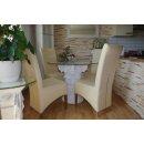 Runder Glas Esstisch Steinmöbel Tafeltisch Esszimmer Küchentisch Säulentisch