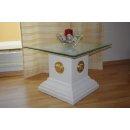 Glas Beistelltisch Telefontisch Blumensäule Medusa Steinmöbel Blumenständer