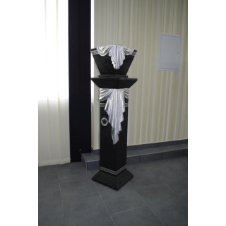 Blumensäule Dekosäule Standsäule Medusa Schalen Vase Versa Serie Blumenständer