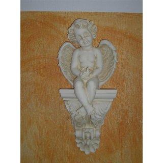 Wandkonsole Wandkonsolen Kaminkonsole Engel Wandrelief Wandbild Antiker Engel