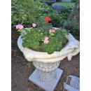 2 x Blumentopf Amphore Pflanzschale Steinmöbel Blumenkübel Pflanzkübel 174KG