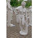 Nackte Frauenfigur Skulptur Gartenfigur Steinfigur Höhe: 120cm