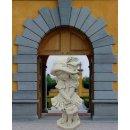 Steinfigur Gartenfigur Kinder Mädchenfigur Höhe: 90cm - 81KG