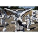 XXL Adler Gartenfigur Steinfigur Höhe: 106cm Gewicht: 196KG