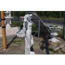 Nackte Frauenfigur Skulptur Gartenfigur Griechische Göttin Steinfigur Höhe: 150cm