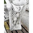 Jäger Skulptur Gartenfigur Griechische Männer Steinfigur Höhe: 168cm Gewicht: 349KG Weiß Grau
