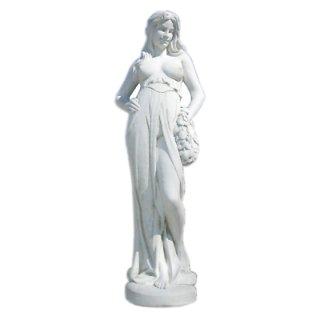 Griechische Figur Nackte Figur Frauenfigur Nackte Frauenskulptur Gartenfigur
