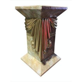 Blumenständer Blumensäule Beige Versa Serie Griechische Marmor Säule H: 55cm