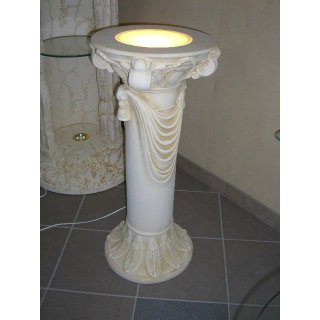Griechische Blumensäule Säule Steinmöbel Blumenständer Antike Römische Barock