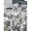 Griechische Frauenskulptur Gartenfigur Steinfigur Frauenfigur Pflanzschalen