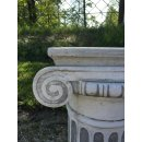 Antikes Wohndesign 2 x Steinsäule Sockelsäule Blumensäule Gartensäule 160KG Höhe: 61cm
