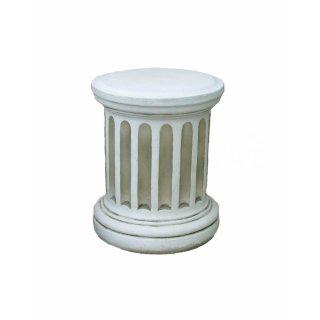 Antikes Wohndesign Griechischer Sockel Steinsäule Blumensäule Blumenständer Säule Gartensäule Sockelsäule 120KG