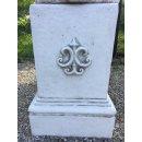 Antikes Wohndesign 2 x Steinsäule Sockelsäule Blumensäule Gartensäule Figurensockel Blumenständer Höhe: 44cm 120KG