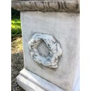 Antikes Wohndesign Griechischer Sockel Steinsäule Blumensäule Blumenständer Säule Gartensäule Sockelsäule 99KG