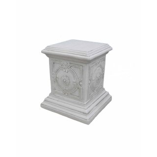 Antikes Wohndesign Griechischer Sockel Steinsäule Blumensäule Blumenständer Säule Gartensäule Sockelsäule 114KG