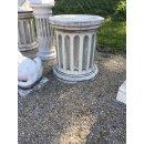 Antikes Wohndesign Spar-Set 2 x Griechischer Sockel Steinsäule Blumensäule Blumenständer Säule Gartensäule Sockelsäule 240KG