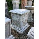 Antikes Wohndesign Spar-Set 2 x Griechischer Sockel Steinsäule Blumensäule Blumenständer Säule Gartensäule Sockelsäule 228KG