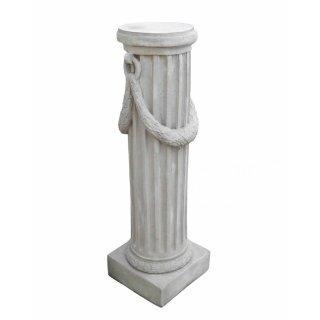 Antikes Wohndesign Griechischer Sockel Steinsäule Blumensäule Blumenständer Säule Gartensäule Sockelsäule Höhe: 116cm 158KG