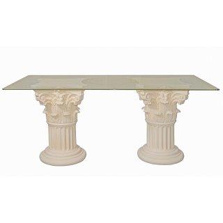 Schreibtisch Versa Serie Bürotisch Konferenztisch Computertisch Säulentisch