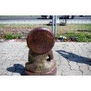 2 x Thai Buddha Kerzenhalter Bronze Optik Garten Buddha Statue Feng Shui H: 55cm