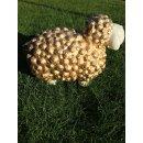 VIP Schaf Gold Schafe Dekoschaf Witziges Schaf Wetterfest Bunte Gartenfiguren