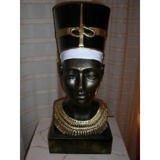 Nofretete Anubis Schakal Sarkophag Pharao Ramses Rar Ägyptische Skulpture Büste
