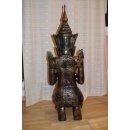 XXL Thai Buddha Feng Shui Buddhismus Statue Thaifiguren Dekofigur Asiatische
