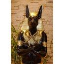 Anubis Lebensgroße Figuren Figur Pharao Schakal Echnaton Rar Ramses Nofretete