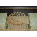 Antiker Couchtisch Marmortisch Steintisch Versa Serie Wohnzimmertisch Glastisch-