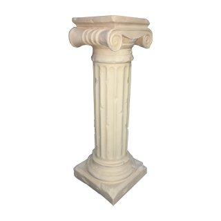 Standsäule Blumensäule Creme Beige Säule Säulen Blumenständer Höhe:100cm