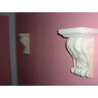 2 x Griechische Antike Wandkonsole Wandkonsolen Kaminkonsole Konsole Steinmöbel