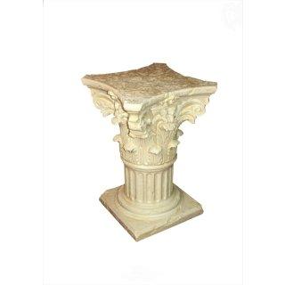 Griechische Blumensäule Blumenständer Barock Säule Figurensockel Tischsäule