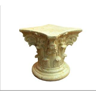 Griechische Blumensäule Blumenständer Barock Säule Figurensockel Tischsäule 50cm