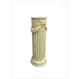 Griechische Säule Dekosäule Blumensäule Podest Antike Säule Steinsäule H: 63,5cm