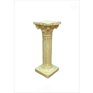 Griechische Säule Dekosäule Blumensäule Podest Antike Säule Steinsäule H: 75,5cm